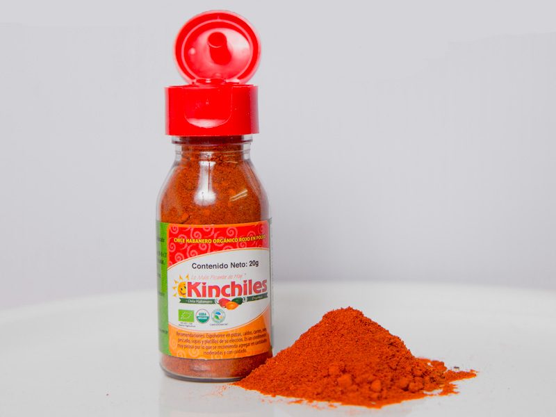 Pepper Powder Archives - Kinchiles Organic Habanero